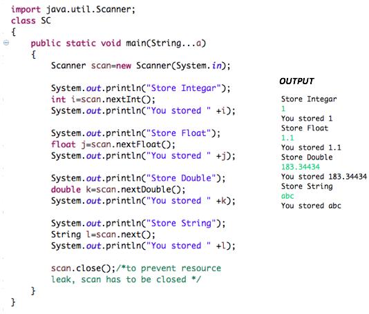 Operators, If-else and Switch – Program Java